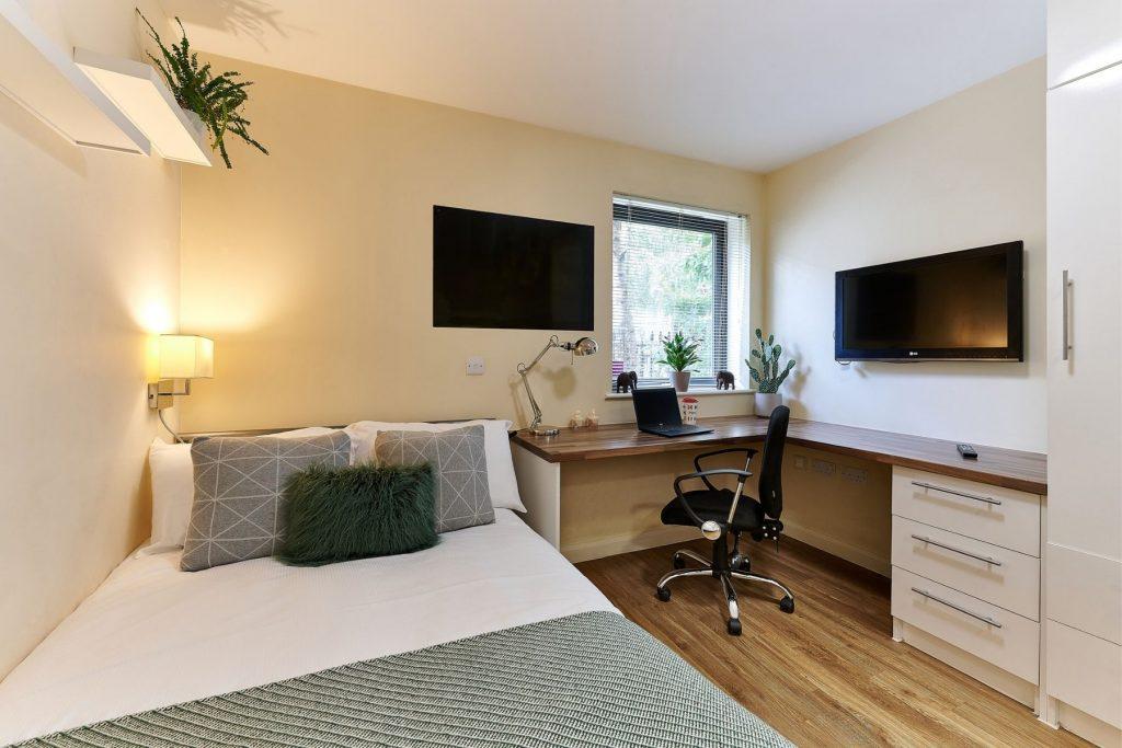 Premium Studio room at The Hub, Vauxhall - Student Accommodation in London